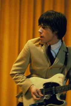 Jeff Beck (probably with the Yardbirds).