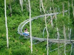Alpine Coaster at Park City Mountain Resort in 2020 Park City Mountain, Mountain Resort, Oh The Places You'll Go, Places To Travel, Places To Visit, Utah Vacation, Vacation Spots, Alpine Coaster, Us Road Trip