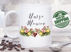 nurse mug nurse gift best selling items nurse gift ideas nurse thank you gift nurse graduation nurse gifts nurse thank you thank you gift nurse gift idea thank you graduation gift nurse mugs  This cute design will be printed on best quality Grade A fully white Mugs or Mugs with black handle. If you prefer, we can print design on one side and special message on the other side. Kindly specify in order notes. We use dye sublimation and heat transfer technique to print the design on the mugs…