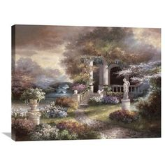 Global Gallery 'Enter The Light' by James Lee Painting Print on Wrapped Canvas Size: