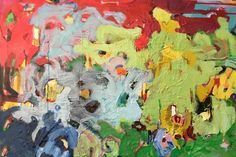 Sheila Grabarsky is an abstract painter. An accomplished colorist, her works are mixed media and