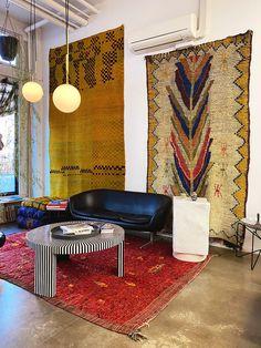 Loft Spaces, Living Spaces, Interior Inspiration, Design Inspiration, Decoration Chic, Interior And Exterior, Interior Design, Bedhead, Home And Deco