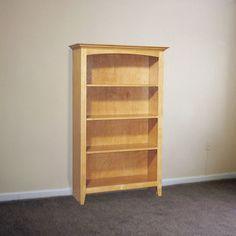Bookcase Woodworking Plan by U-Bild Woodworking Plans