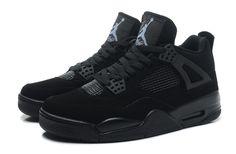 brand new 1cbc4 6f930 Air Jordan 4 Retro Black Cat Black Black-Light Graphite Jordan 4 Black, Nike