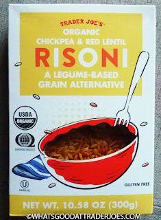 What's Good at Trader Joe's?: Trader Joe's Organic Chickpea & Red Lentil Risoni Rice Substitute, Eat Slowly, Second Breakfast, Trader Joe's, Cauliflower Rice, Lentils, Weight Gain, Breakfast Recipes, Side Dishes