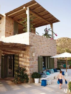 Designer Jérôme Faillant-Dumas's Family Getaway on a Greek Isle Photos | Architectural Digest