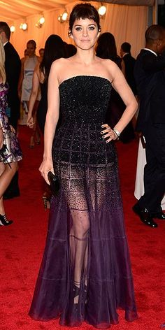 My absolute favorite dress choice from the 2012 Met Gala- breathtaking beauty Marion Cotillard in Dior Haute Couture.
