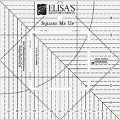 "Square Me Up Technique DVD by Elisa Wilson of Back Porch Design at KayeWood.com. Eilsa's Square Me Up Ruler uses popular 10"" and 5"" squares of fabric to give you quick and accurate half-square triangles in 4 1/2 (4"" finished size) and 2"" (1 1/2"" finished size). http://www.kayewood.com/item/Square_Me_Up_Technique_DVD/1771 $12.00"