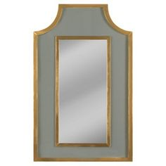 Check out this item at One Kings Lane! Arnaud Wall Mirror, Gray