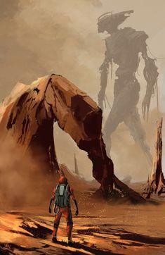 The Martian , Keven Mallqui