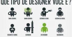 """Eu não concordo com a popularização da palavra """"designer"""" para usar em tudo quanto é tipo de profissão, mas este info ficou bem interessante..."""