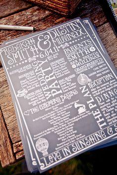 Rustic Wedding Program Printable Digital File by SetApartDesigns85, $50.00
