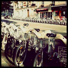 Velib : free bikes in Paris