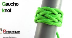 How to tie a gaucho knot - Paracord guild Gaucho, Best Knots, Swiss Paracord, Decorative Knots, Paracord Bracelets, Paracord Ideas, Survival Bracelets, Nautical Knots, Diy Clothes Videos