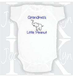 Hey, I found this really awesome Etsy listing at https://www.etsy.com/listing/259865549/grandmas-little-peanut-aunt-custom-body