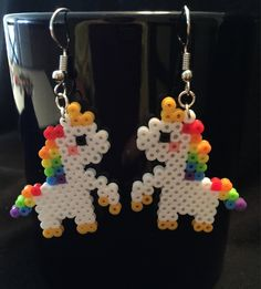 Perler Bead Designs, Hama Beads Design, Diy Perler Beads, Pearler Beads, Perler Beads Instructions, Easy Perler Beads Ideas, Melty Bead Designs, Mini Hama Beads, Hama Beads Disney