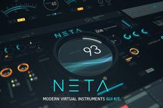NETA: Modern Virtual Instruments GUI