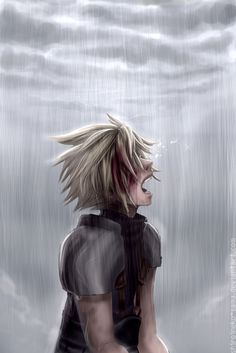 when Zack was killed I swaer my hear was torn watching. I can only imagine what Cloud felt Final Fantasy Crisis Core, Final Fantasy Cloud, Final Fantasy Vii Remake, Cloud And Tifa, Cloud Strife, Tidus And Yuna, Anime Fantasy, Kingdom Hearts, Female Characters