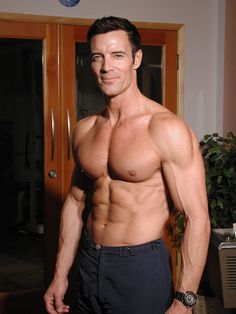 This guy is 52??!? oh, uh, and here's a recipe for Tony Horton's Famous Vegan Burritos.