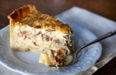 Quiche Lorraine - Like the ones you buy in Paris.