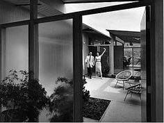 Mid century modern Sunny Atriums Eichler Style