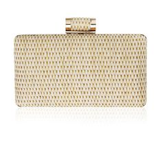 0d6eea076c8 Molly Woven Straw Clutch Bag. Vintage inspired 1970s style retro clutch bag  by Vintage Styler