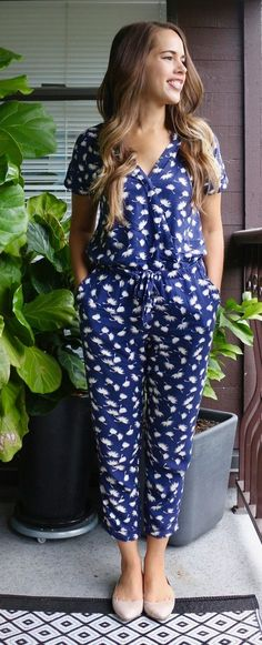 Jules in Flats - Old Navy Jumpsuit