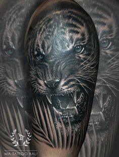 Realistic Tiger Tattoo by: #Prima #MaTattooBali #BlackgreyTattoo #TigerTattoo #BaliTattooShop #BaliTattooParlor #BaliTattooStudio #BaliBestTattooArtist #BaliBestTattooShop #BestTattooArtist #BaliBestTattoo #BaliTattoo #BaliTattooArts #BaliBodyArts #BaliArts #BalineseArts #TattooinBali #TattooShop #TattooParlor #TattooInk #TattooMaster #InkMaster #AwardWinningArtist #Piercing #Tattoo #Tattoos #Tattooed #Tatts #TattooDesign #BaliTattooDesign #Ink #Inked #InkedBoy #Inkedmag #BestTattoo #Bali Ma Tattoo, Tiger Tattoo, Piercing Tattoo, Tattoo Shop, Tattoo Studio, Tattoo Master, Ink Master, Fine Line Tattoos, Cool Tattoos