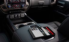 Apple CarPlay compatibility in the 2016 GMC Sierra 1500 Light-Duty Truck allows you to sync your phone to Sierra's available IntelliLink system.