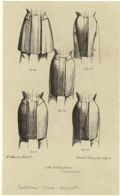 1830s mens coat tails  Notice the nipped-in waist: super fashionable for a young gentleman!