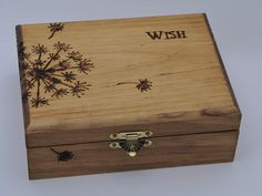 Make a Wood Burned Keepsake Box for Mother's Day