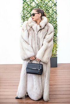 This is a very exclusive piece of clothing ,a fur saver ! It is real fur. Super look ! Black Fur Coat, White Fur, Blue And White, Multi Coloured Boots, Fur Coat Fashion, Fabulous Fox, Mini Skirt Dress, Fox Fur Coat, Bodysuit Lingerie