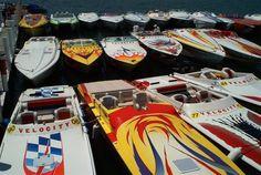 Go-Fast Boats at a Poker Run