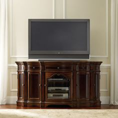 Big Screen Entertainment Center | TV Consoles |Home Entertainment Center Furniture |Living Room Accent Furniture - By Hooker Furniture