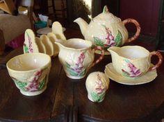 Carlton Ware Breakfast Set in Foxglove Pattern / by SmallbonesStudio