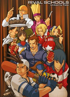 by DXSinfinite on DeviantArt Video Game Anime, Video Game Characters, Video Game Art, Video Games, Street Fighter Comics, Kasugano, Gamers Anime, King Of Fighters, Fighting Games