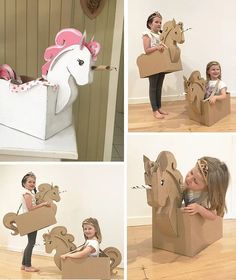 Fascinating DIY Cardboard Unicorn Costume with Walled Cardboard Box - Truly Hand Picked Unicorn Diy, Diy Unicorn Costume, Unicorn Halloween, Unicorn Crafts, Pusheen Unicorn, Unicorn Snot, Unicorn Logo, Unicorn Quotes, Christmas Unicorn