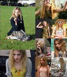 Cassie from Skins! Wish I could emulate her style, so quirky yet feminine and ethereal..