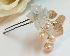 Bridal Hair Pin Bridal Hair Pins Flower Headpiece от FlowerRainbow