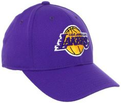 NBA Los Angeles Lakers Structured Flex Fit Hat, S/M by adidas. $17.99. Raised Embroidered Front Logo. Embroidered Side & Back Logo. Made by Adidas. 97% Acrylic Wool/3% Spandex. Get the perfect relaxed finish to any casual LA-enthused look with this Basic Logo Flex hat by adidas. It features an embroidered team logo on the crown and an NBA logo at the back for an easy way to sport your Lakers style any day of the week! S/M fits 6 3/4 - 7 1/4. L/XL fits 7 1/4 - 7 5/8. Sizes ...