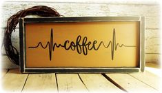 Coffee Bar Sign, Rustic Kitchen Decor, Coffee Lover Gift, Coffee Themed Kitchen, Handmade Country Rustic Wooden Sign #coffeesigns