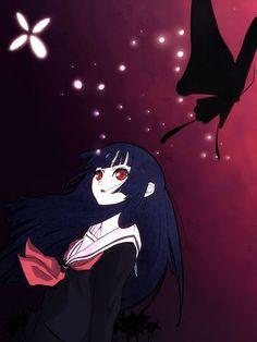Enma Ai, Studio Deen, Anime Girl Neko, Hell Girl, Pop Characters, Animes Wallpapers, The Villain, Amazing Art, Chibi