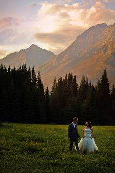 Beaverfoot lodge , golden bc, wedding photography