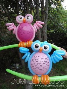 Owl Balloons, Baloon Art, Origami, Balloon Animals, Snoopy And Woodstock, Ideas Para Fiestas, Childrens Party, Balloon Decorations, Holidays And Events