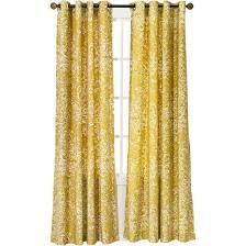 Threshold Paisley Curtain Panel, Yellow