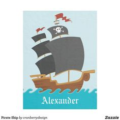 Shop Pirate Ship Fleece Blanket created by cranberrydesign. Black Rope, Dog Blanket, Picnic In The Park, Edge Stitch, Outdoor Events, Cuddling, Pirates, Personalized Gifts, Custom Blankets