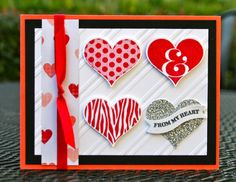 Krystal's Cards and More: January Online Stamp Class Groovy Love #1