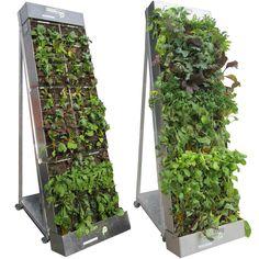 Vertical garden - more tips and tricks for its design - Garden Design Ideas Urban Agriculture, Urban Farming, Urban Gardening, Indoor Gardening, Sustainable Gardening, Gardening Tips, Indoor Plants, Vertical Garden Design, Vertical Farming