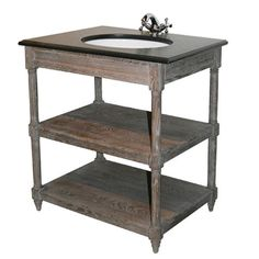 French Provincial Bathroom Vanity Solid Wood Black Marble TOP Porcelain Sink in Coburg, VIC French Provincial Furniture, French Country Furniture, Black Marble, Marble Top, Library Cabinet, French Industrial, Porcelain Sink, Single Bathroom Vanity, Dining Table Chairs