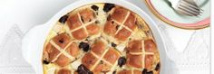 Hot Cross Bun Pudding.
